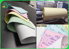 China Digital Carbonless Paper Printing CB 52 CFB 50 CF 55 Colorful NCR Paper Rolls company