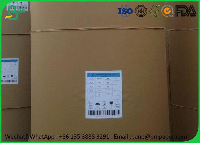 Uncoated Printing Paper , 53 - 80Gsm 1000 Mm Jumbo Roll Paper For School Notebook