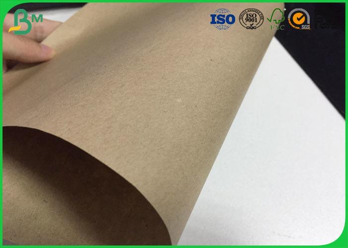 80gsm 150gsm Kraft Liner Board , 600 * 900mm Kraft Paper Sheets For
