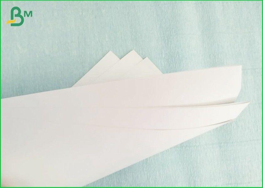 Single Side Kaolinite Coated Cardboard Sheets Food Grade