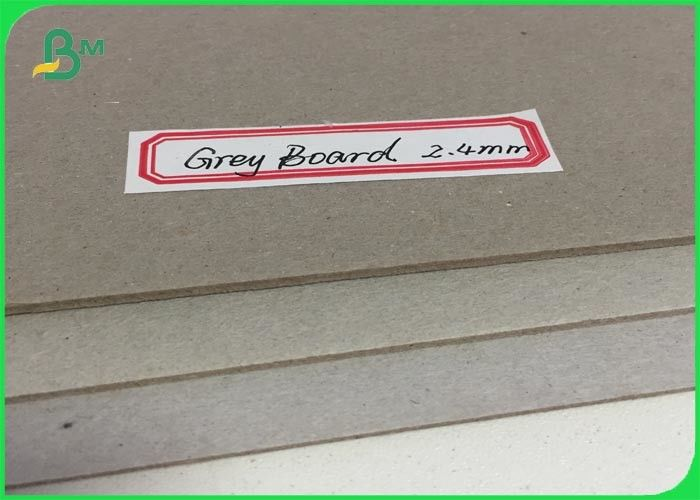 Compressed Wrapping Grey Board Paper 2 4mm Thickness Book