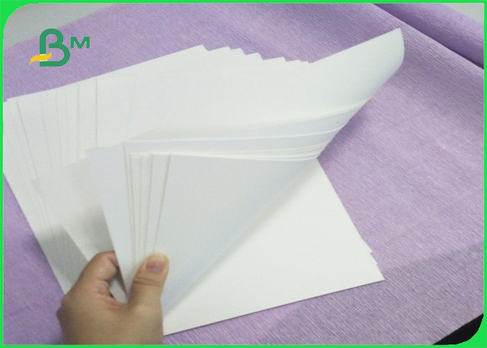 Tear Proof 120 Gsm White Uncoated Kraft Paper For Shopping Bags