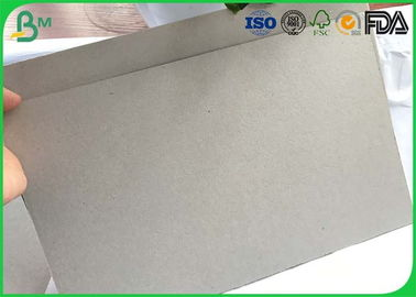 Large Corrugated Cardboard Sheets 1mm 2mm 3mm 4mm Grey Board For Box Binding Covers
