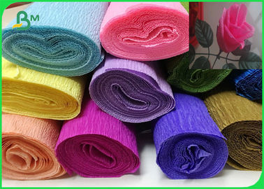 double sided wrapping crepe paper rolls diy multi color flower paper