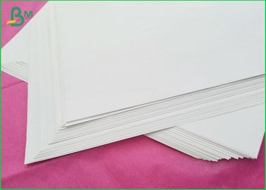 60gsm 70gsm Offset Printing Paper , Uncoated White Paper Without Coating Side