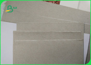 China 250gsm Coated Duplex Board Grey Back Cardboard Roll Package , White Color factory