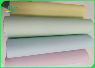 55/50/55 Gsm Offset Printing Paper Jumbo Roll , Ncr 5 Colored Copy Paper