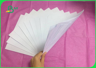 Uncoated White Bond Paper , 70GSM 80GSM Woodfree Paper For Notebook