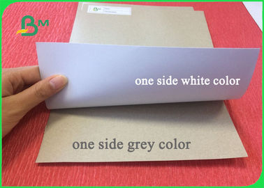 China 200g 230g 300g One Side Coated Duplex Board Grey Back for Packaging factory