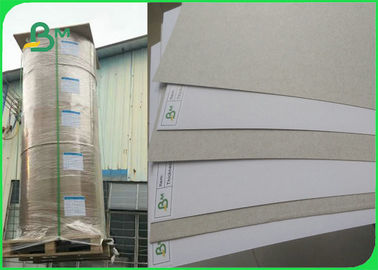 China One Side Coated 250gsm Coated Duplex Board Grey Back for Packing Boxes factory