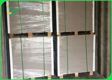 China Recycled Pulp White Clay Coated Duplex Board Grey Back Paper For Package factory