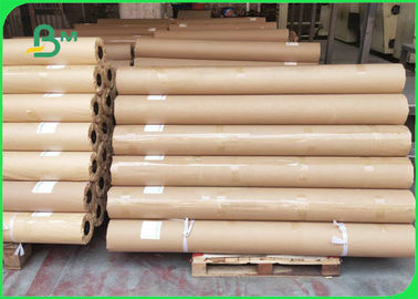China 45gsm 60gsm 70gsm 62 Inch 65 Inch White CAD Plotter Paper Roll For Garment factory