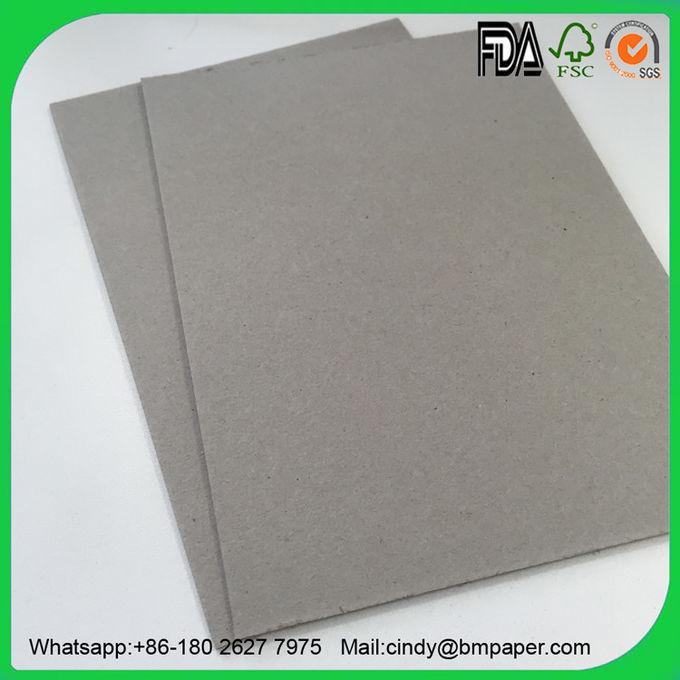 700 * 1000mm Corrugated Cardboard Roll , Grey Folding